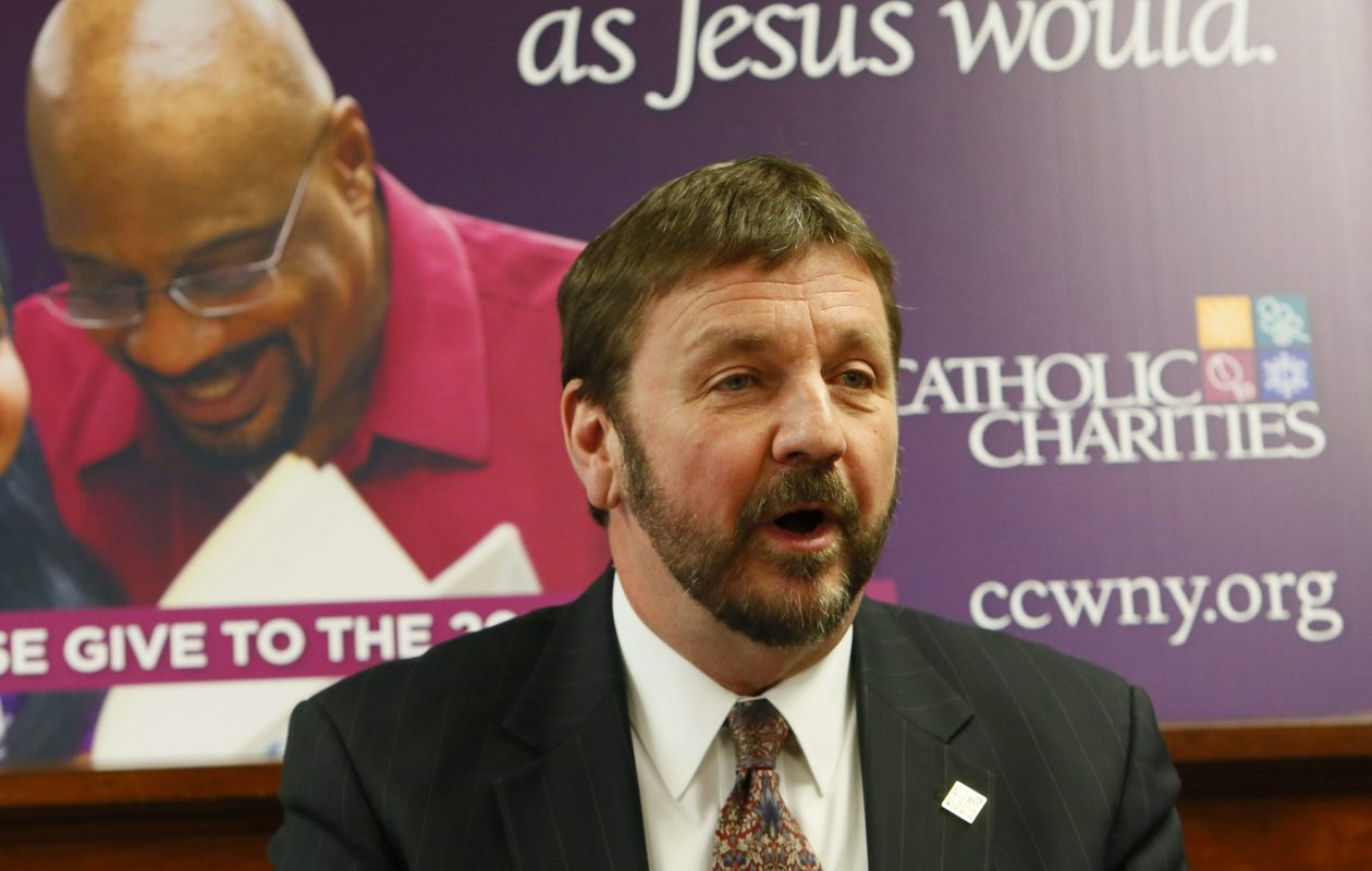 Dennis Walczyk, the CEO of Catholic Charities. (Derek Gee/News file photo)