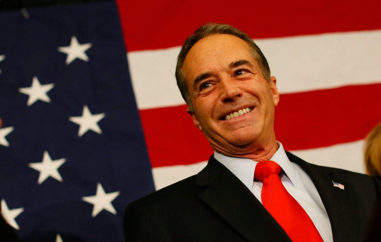 Chris Collins makes a victory speech at the Avant in downtown Buffalo, Wednesday, Nov. 7, 2012. (Derek Gee/News file photo)