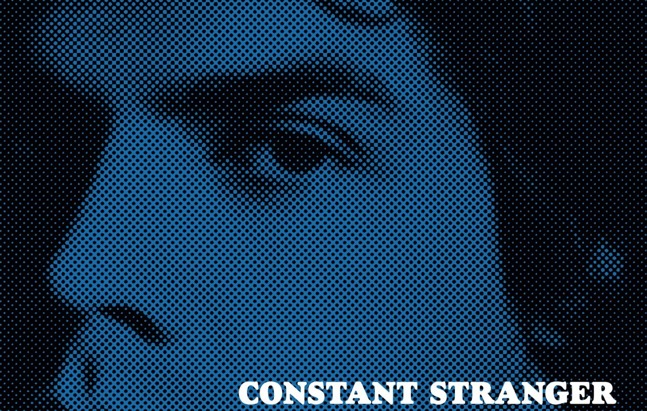 The book cover for 'Constant Stranger: After Frank Stafford,' from Foundling Press. The book has a pre-release event on Aug. 18 at Silo City.