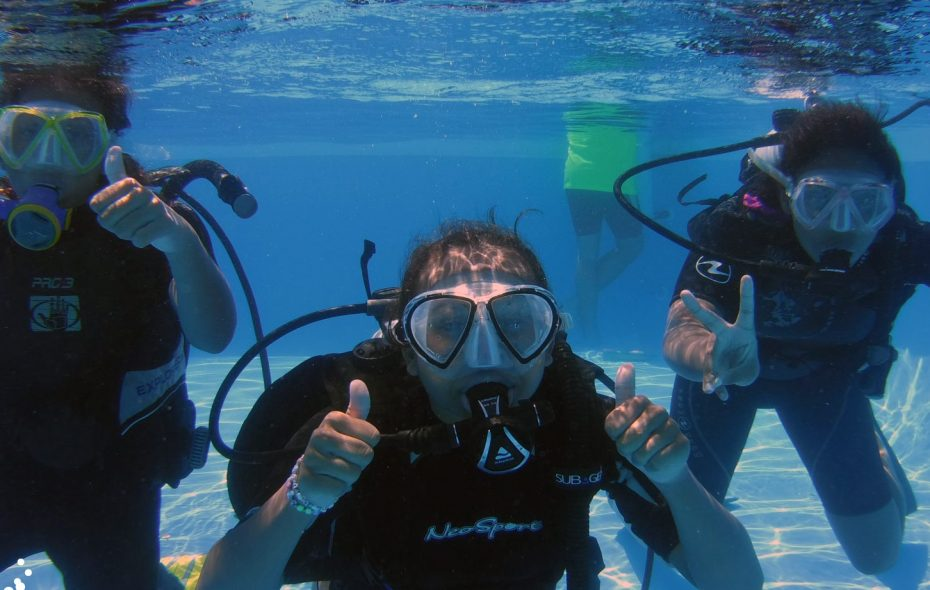 Try scuba diving for free at the Go Dive Now Pool, new this year at the Erie County Fair. (Courtesy: Go Dive Now)