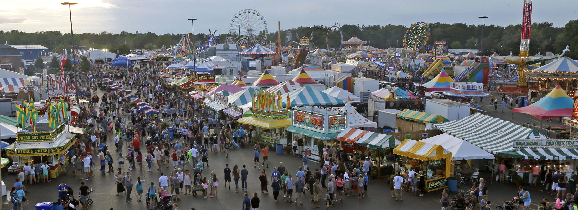 The Erie County Fair returns Aug. 8 to 19.   (Robert Kirkham/News file photo)