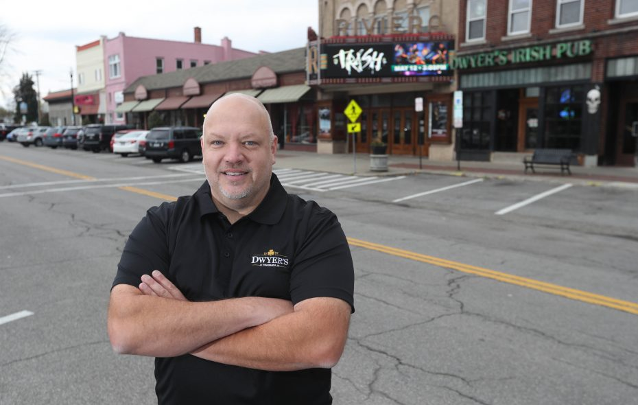 """I take this as a personal defeat,"" Dwyer's Irish Pub owner Greg Stenis wrote about the termination of his free birthday wing promotion. (Sharon Cantillon/Buffalo News)"