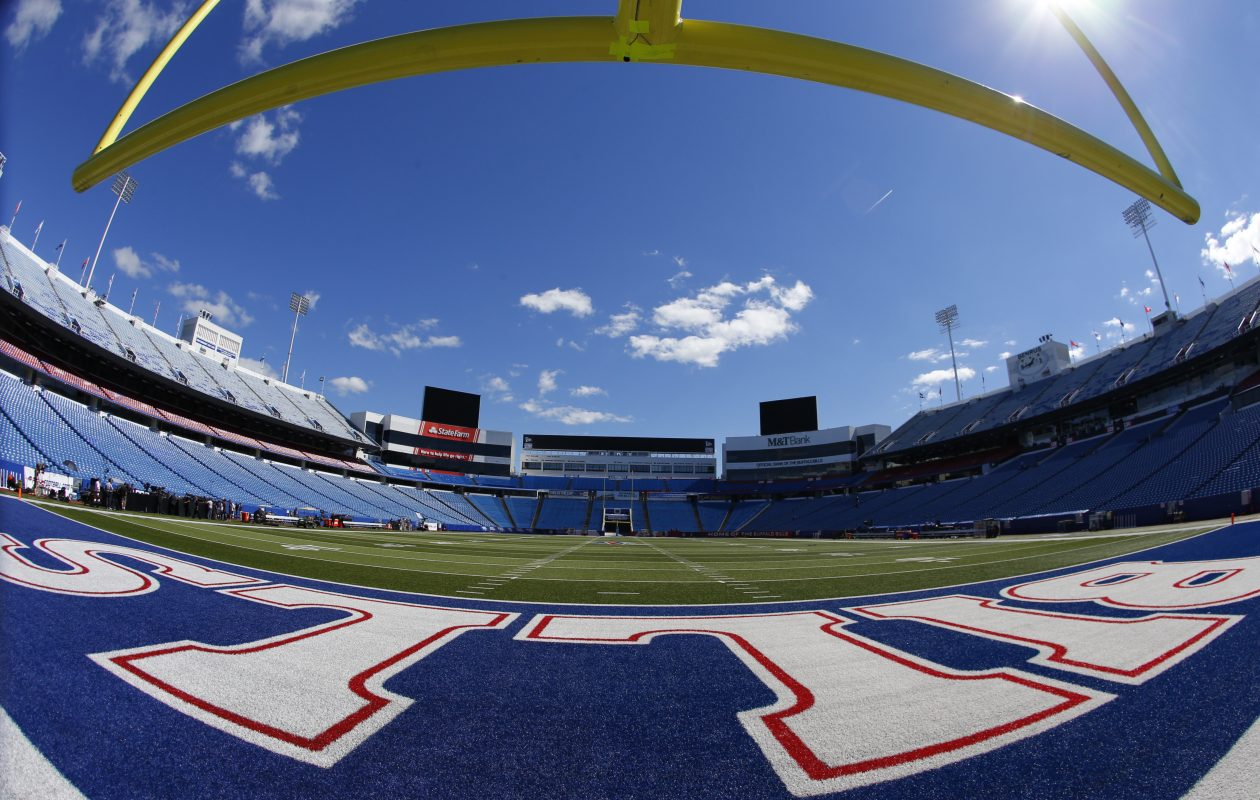 Sunny skies and warm conditions are forecast for Sunday's home opener as the Bills host the Chargers. (News file photo)