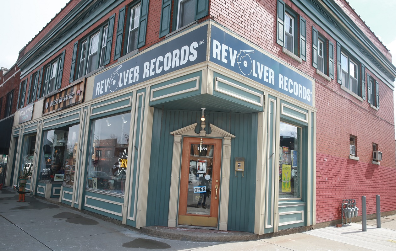 Revolver Records will be opening a second shop on Elmwood Avenue. (John Hickey/Buffalo News file photo)