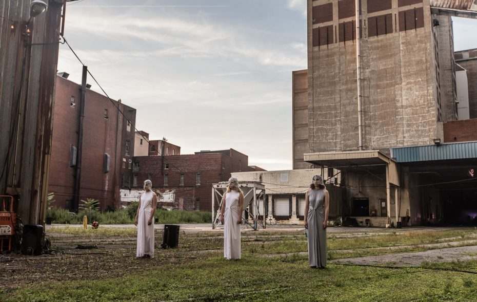"""Torn Space's """"Stations"""" runs Aug. 10-12, then 17-19, at Silo City. (Chuck Alaimo/Special to The News)"""