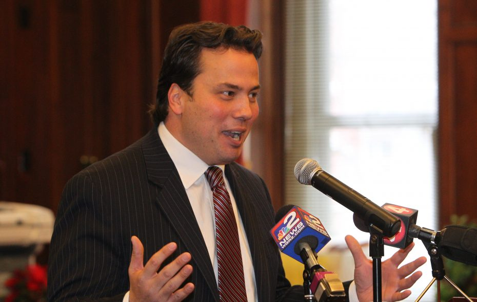 Erie County Comptroller Stefan Mychajliw is one of several names being floated to replace Rep. Chris Collins. (Sharon Cantillon /News file photo)