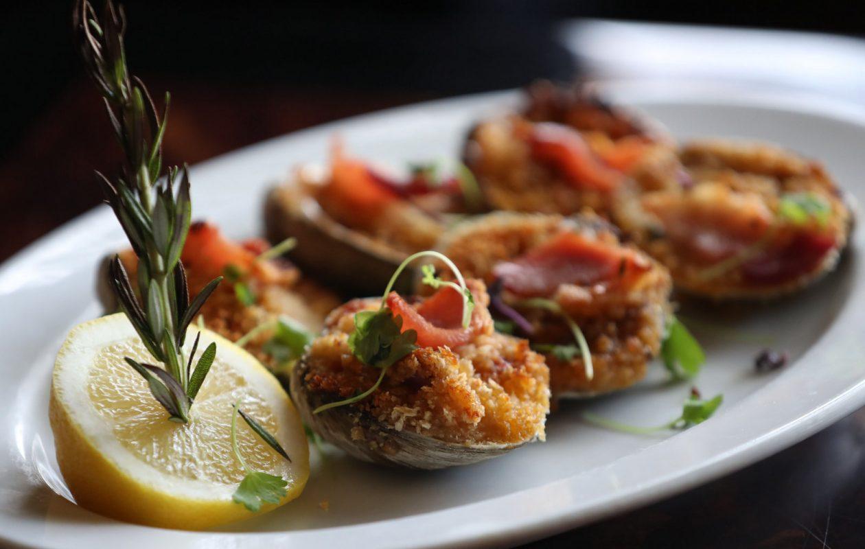 The Phoenix at 269's clams casino. (Sharon Cantillon/Buffalo News)
