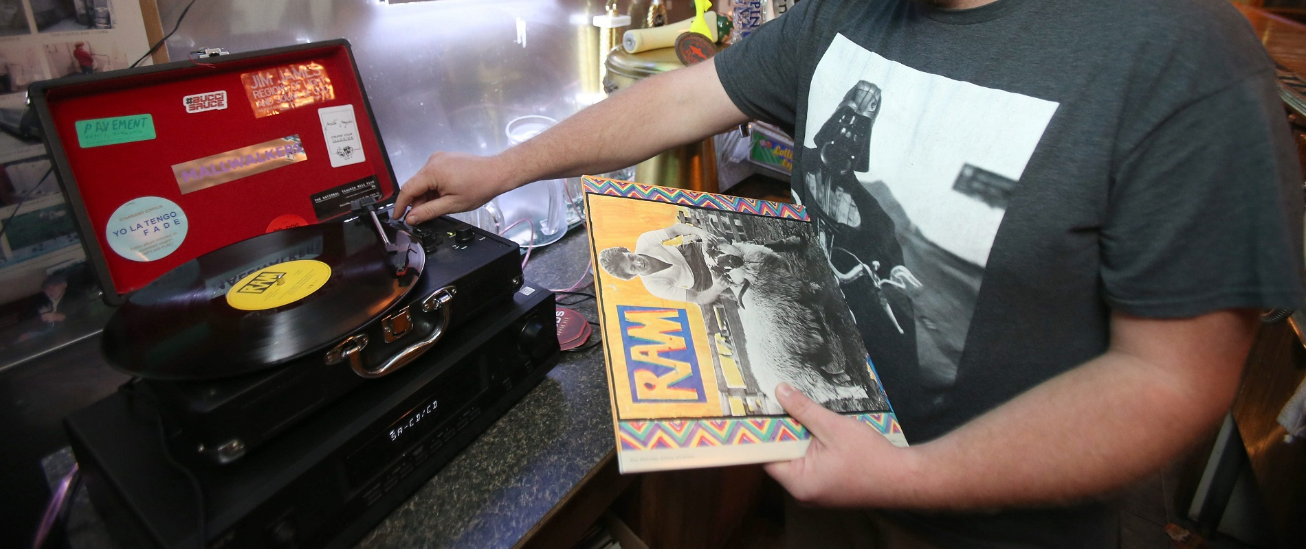 Vinyl's sound is far warmer and boasts a much broader dynamic range than digital files and streaming are capable of. (Robert Kirkham/Buffalo News)