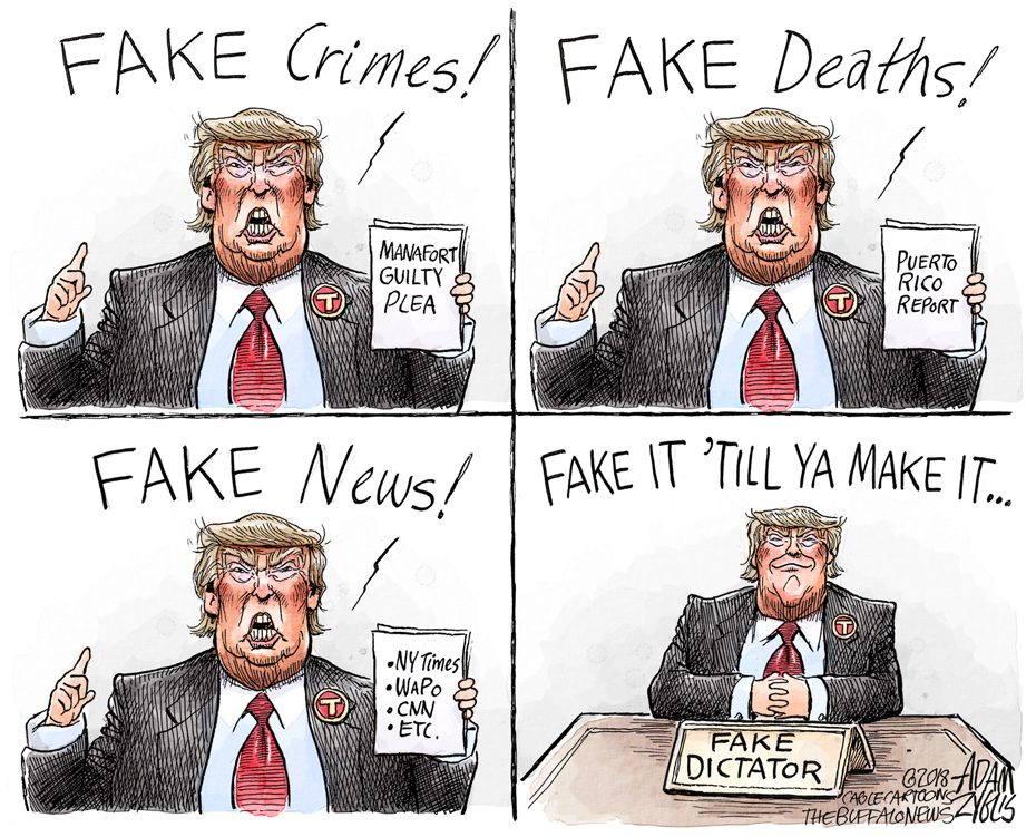 The fake out: September 15, 2018