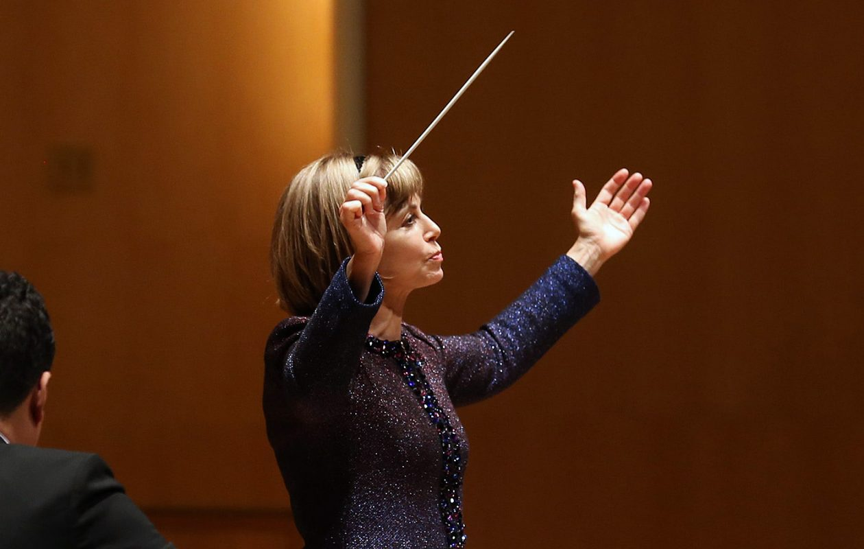 Watch for BPO Music Director JoAnn Falletta in Macy's new fall ad campaign, which includes a 30-second TV spot running through Oct. 6. (Sharon Cantillon/News file photo)