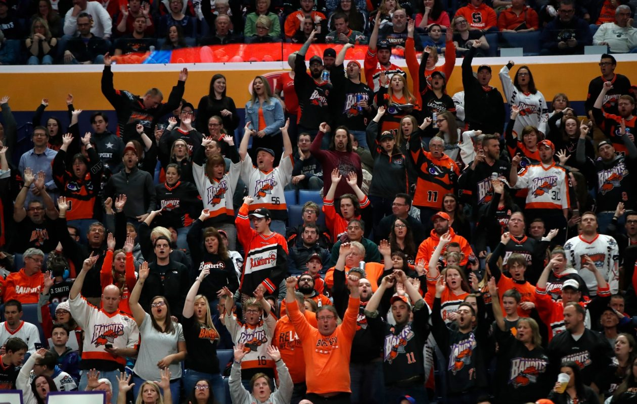 The Buffalo Bandits will look for their fourth win in a row when Calgary comes to town. (Harry Scull Jr./Buffalo News)