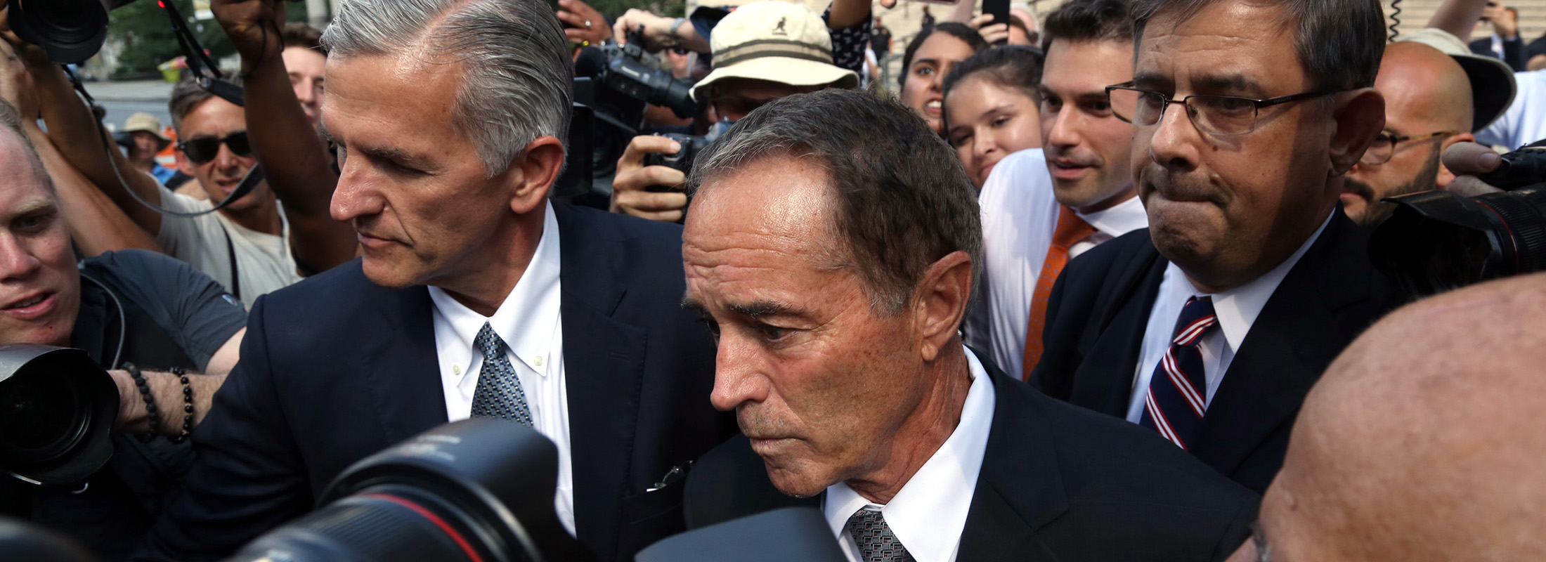 If Rep. Christopher Collins is convicted after a trial, one expert predicts that he could be sentenced to as long as seven to eight years in prison. (Jefferson Siegel/Special to The News)