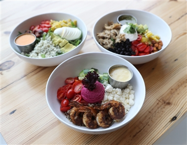 Prima Cafe Salad & Juice Bar at Prima Oliva is at One Buffalo St. in Hamburg.