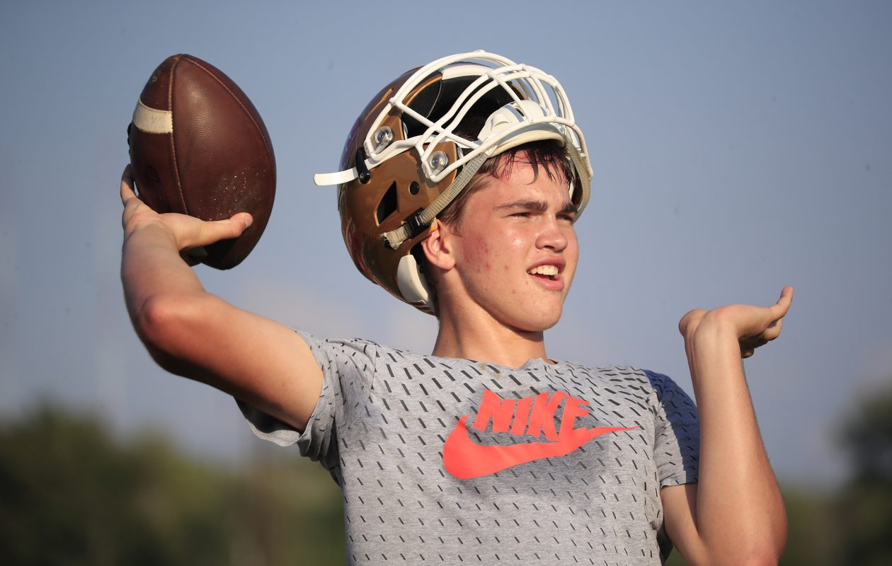 St. Francis quarterback Jake Ritts (Harry Scull Jr./Buffalo News file photo)