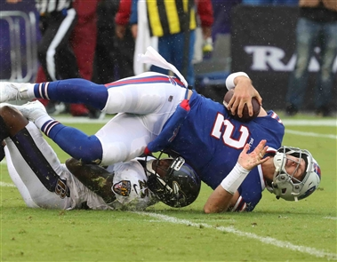 Ravens 47, Bills 3: A game as bad as the weather