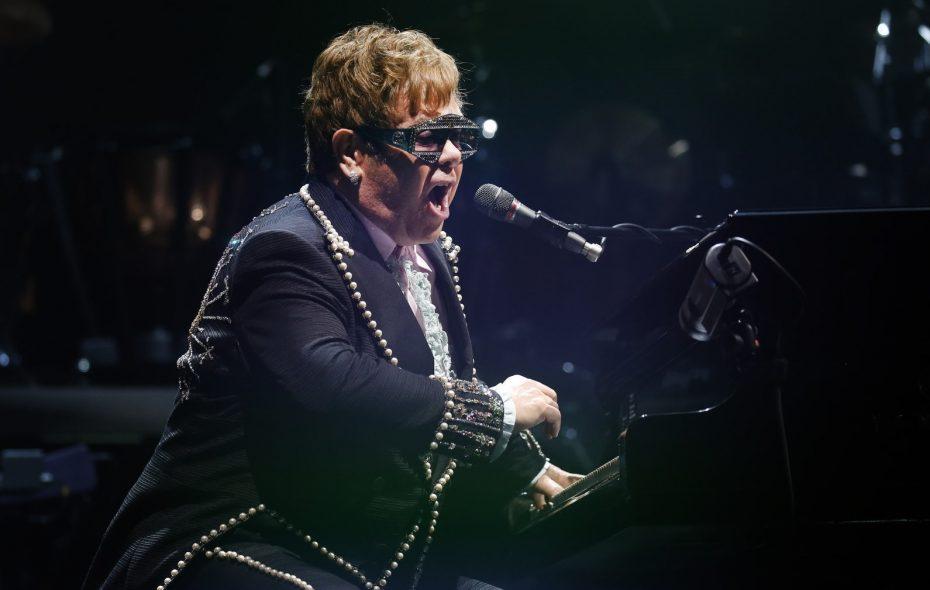 Elton John performed at KeyBank Center on Sept. 15. (Robert Kirkham/Buffalo News)