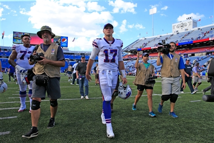 The Buffalo Bills open the season by hosting the Los Angeles Chargers  on Sunday, Sept. 16, 2018, at New Era Field in Orchard Park.