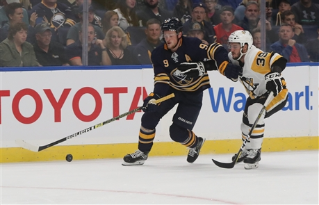 The Pittsburgh Penguins took on the Buffalo Sabres at home Tuesday in their preseason home opener.