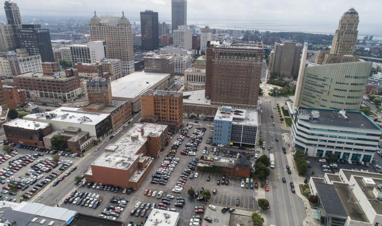 Statler City developer Mark Croce has a plan to expand the Buffalo Niagara Convention Center. (Rendering courtesy of Mark Croce)