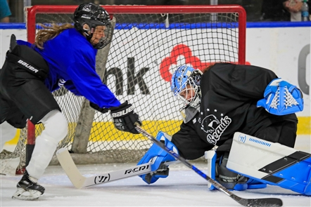 The Buffalo Beauts held their first day of training camp Wednesday.