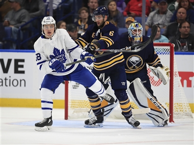 The Toronto Maple Leafs took on the Buffalo Sabres in the KeyBank Center on Saturday, Sept. 21.