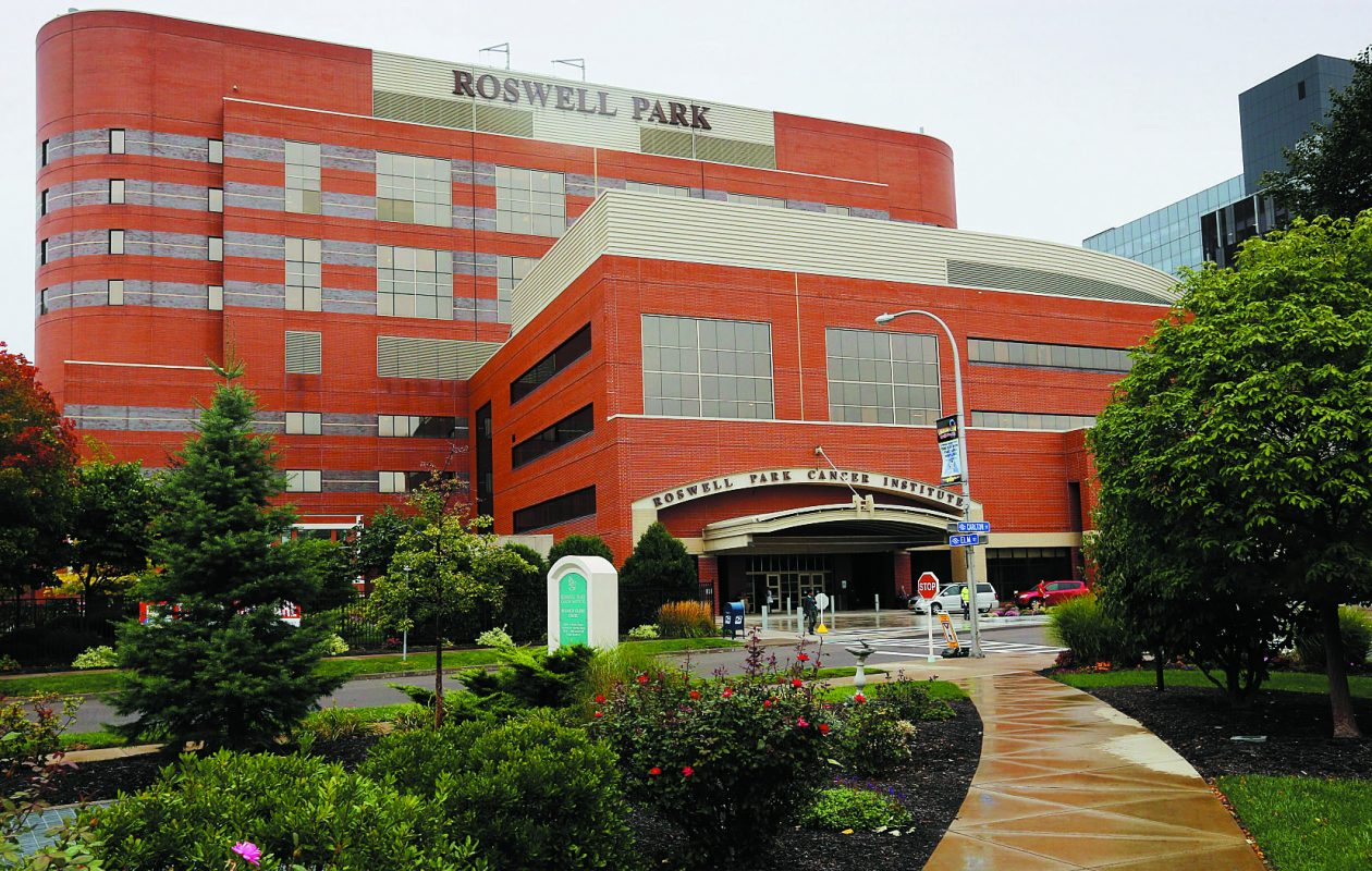 A Roswell Park Comprehensive Cancer Center research team proposes a new strategy for treating prostate cancer in some men. (Derek Gee/Buffalo News)
