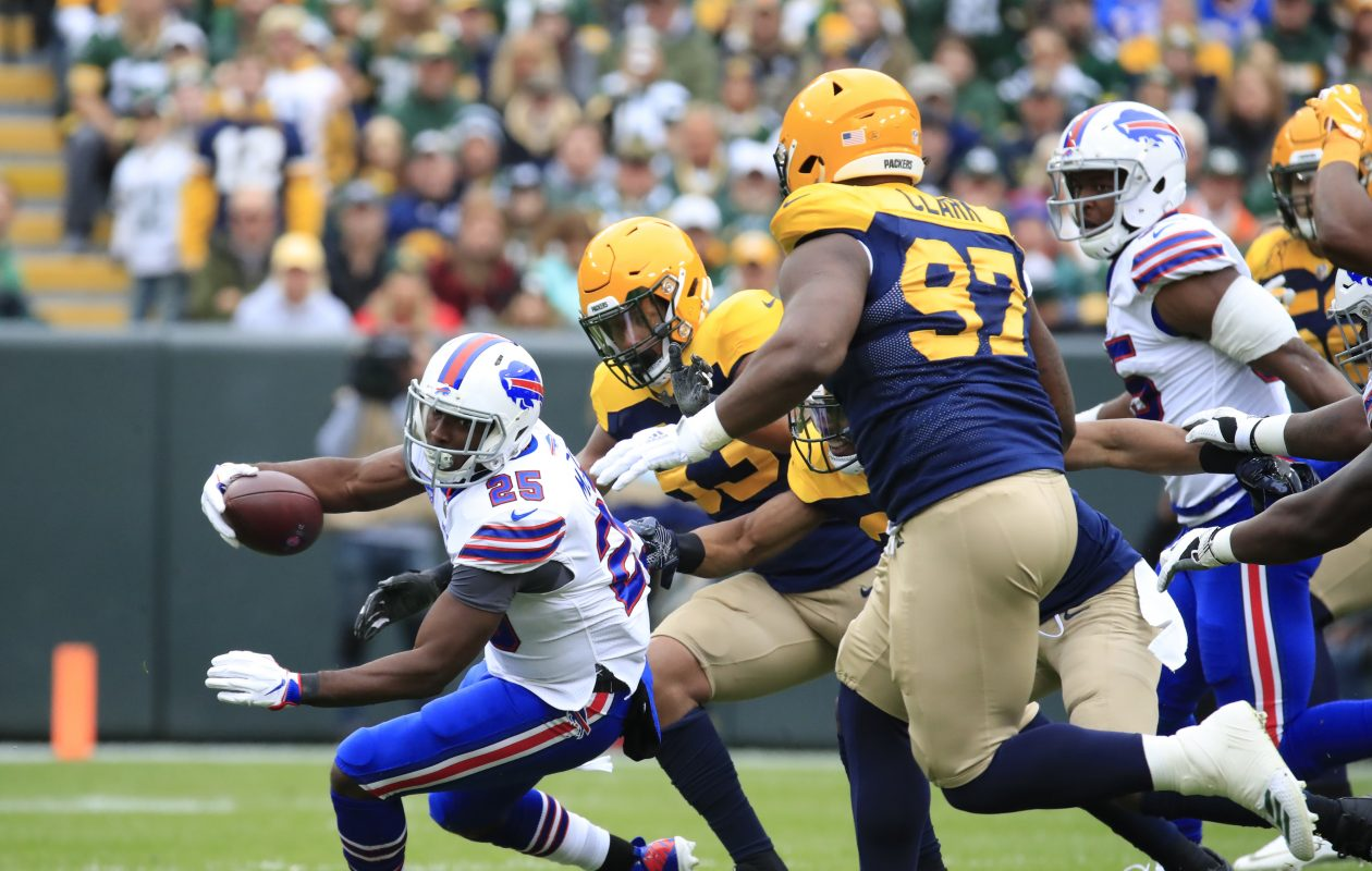Bills running back LeSean McCoy got just five carries Sunday against the Packers. (Harry Scull Jr./Buffalo News)