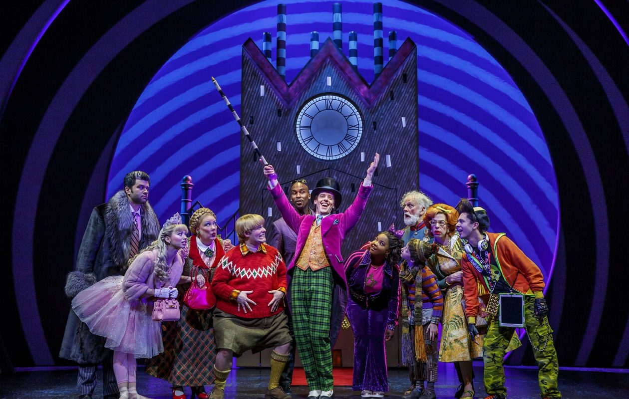 'Charlie and the Chocolate Factory' is colorful fun at Shea's Buffalo Theatre. (Photo by Joan Marcus)