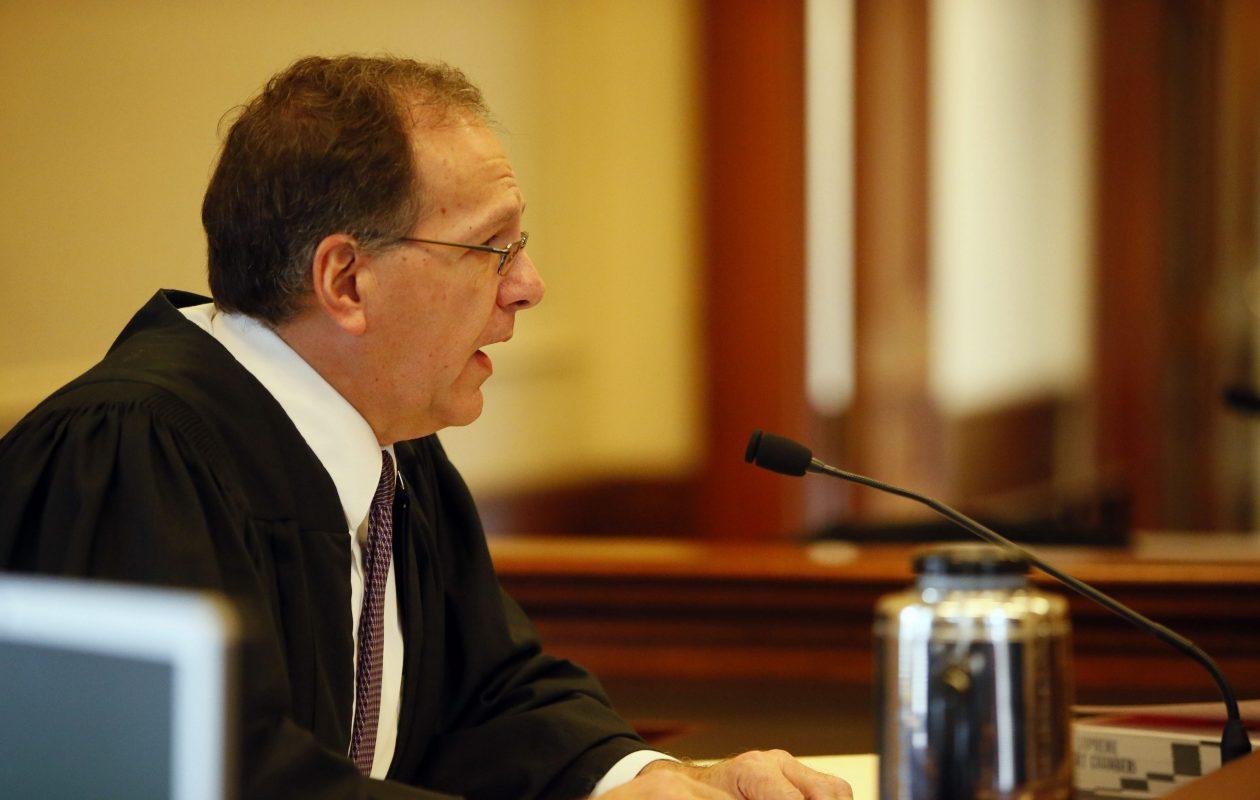 State Supreme Court Justice Richard C. Kloch Sr.  pictured in 2014. (Derek Gee/News file photo)