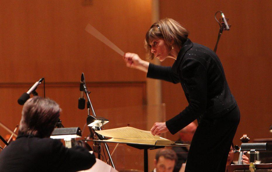 JoAnn Falletta on Saturday celebrated 20 years with the Buffalo Public Orchestra. (Sharon Cantillon/News file photo)