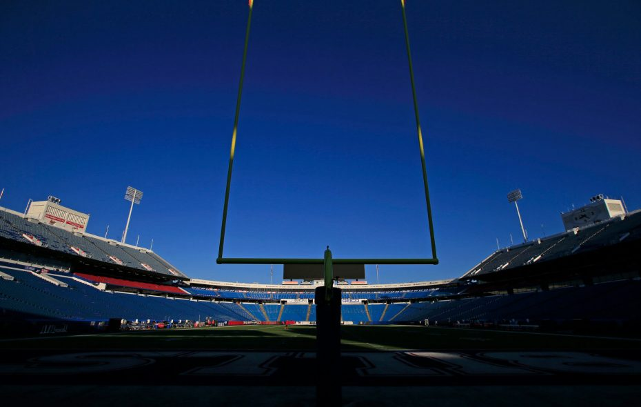 New Era Field 4 hours prior to the kickoff between the Buffalo Bills and Los Angeles Chargers on Sunday, Sept. 16, 2018. (Harry Scull Jr./ Buffalo News)