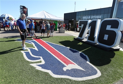 The Buffalo Bills and their fans gear up for the season opener against the Los Angeles Chargers at New Era Field in Orchard Park.