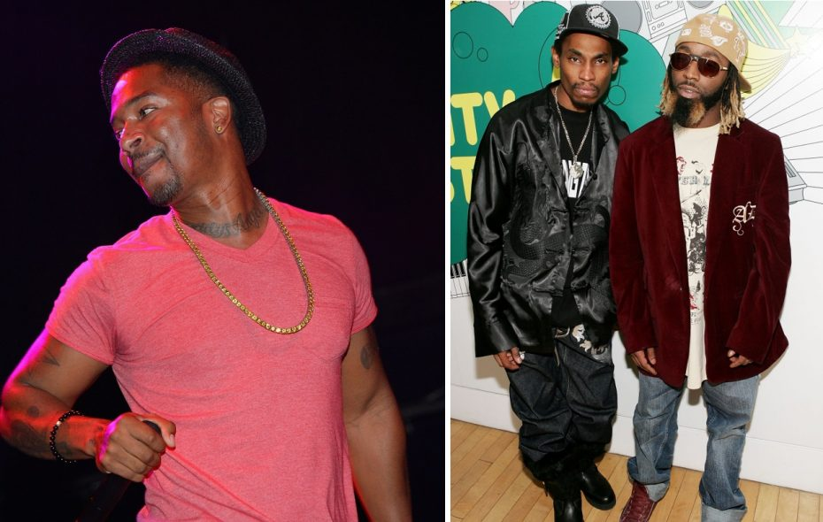 Chingy, left, and the Ying Yang Twins will play a double bill at Rapids Theatre in December. (Getty Images)