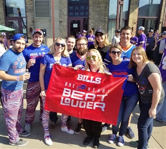 These Bills fans are cheering for the Bills all around the world. Share your Bills selfies with us by emailing your photos to Qina Liu at qliu@buffnews.com. Please include your name as well as brief caption info.