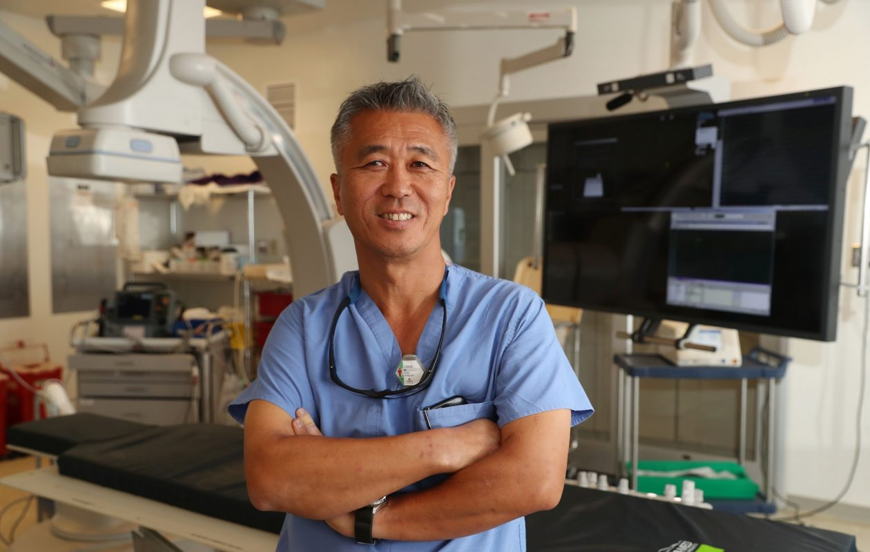 An estimated 130,000 Americans die each year from atrial fibrillation, which Dr. Chee Kim treats at the Gates treats at the Gates Vascular Institute on the Buffalo Niagara Medical Campus. 'Initially, it will be intermittent,' he says, 'so you'll have episodes that may last an hour and then your heart will correct itself. You may get it once a year. As time goes on, irregularities will become more frequent and more prolonged. '(Sharon Cantillon/Buffalo News)