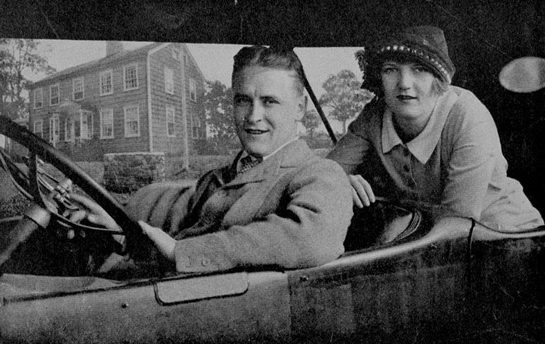 F. Scott Fitzgerald and his wife Zelda in 1920.