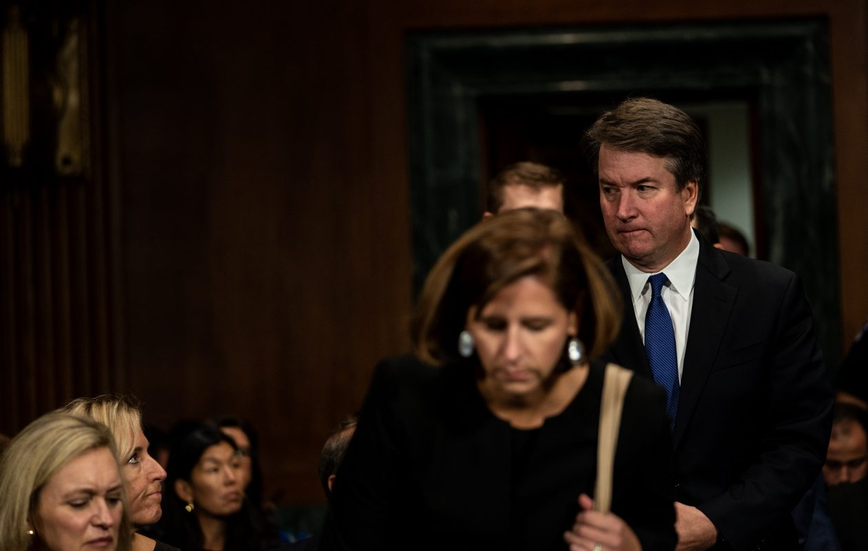 The Buffalo-area TV market wasn't captivated by the nine-hour hearing of Judge Brett M. Kavanaugh and his accuser, Dr. Christine Blasey Ford. (Erin Schaff/Getty Images)