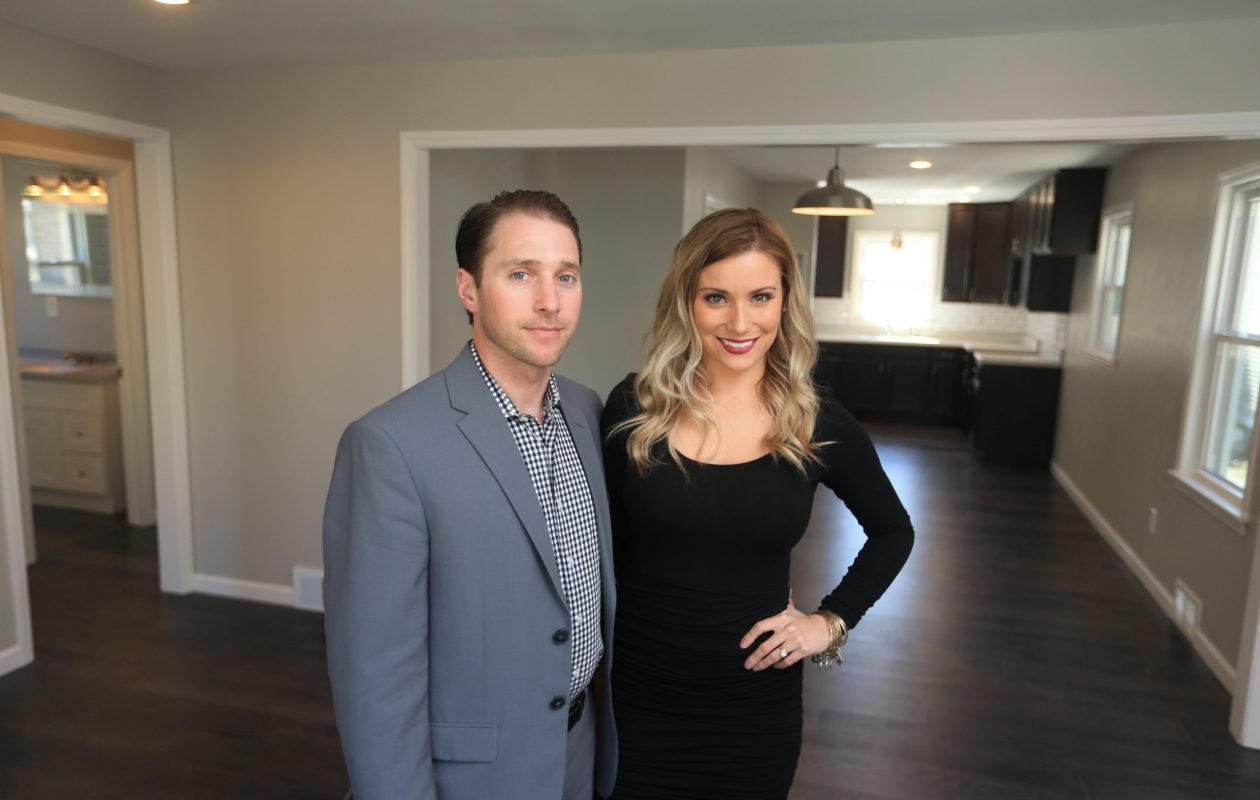 Christopher and Lorissa Naugle's pilot episode of 'Risky Builders' is being repeated at 8:30 p.m. Thursday on HGTV. (John Hickey/News file photo)