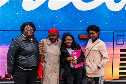 The 'American Idol' Bus Tour dropped by Canalside on Sunday, Sept. 9, 2018, to host daylong auditions for the popular ABC show.