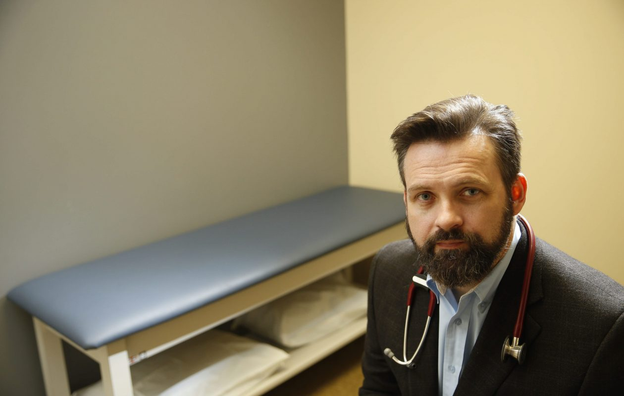 Dr. John Radford at his former Five Star Family Care in Depew. Radford's Five Star Urgent Care chain plans a rapid expansion over the next 15 months, with 15 new locations in Erie County, across upstate New York and out of state. (Derek Gee/Buffalo News file photo)