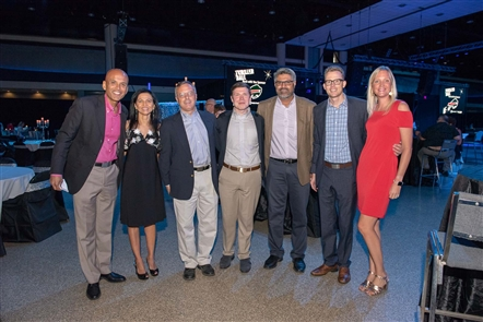 Kaleida Health's Thriller Ball let loose on Saturday, Sept. 22, 2018, in the Buffalo Niagara Convention Center. The 'smart casual' event featured