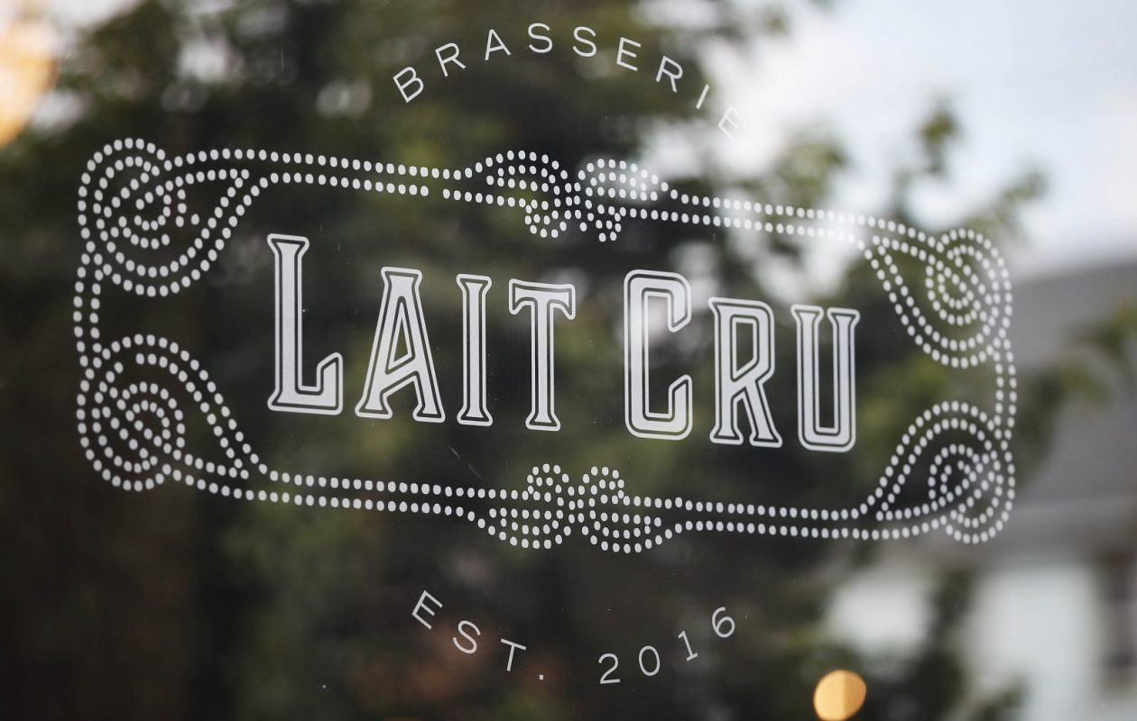 Lait Cru Brasseri, at 364 Connecticut St. in the Horsefeathers Building, has closed. (Sharon Cantillon/News file photo)