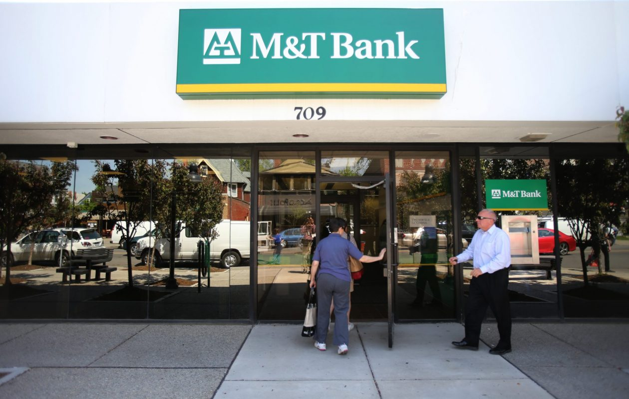 M&T Bank retained the top spot in deposit market share. (Buffalo News file photo)