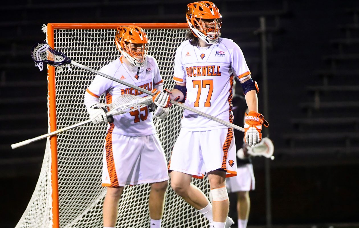 Matt Gilray, a defenseman at Bucknell, was a first-round pick by the Buffalo Bandits during the National Lacrosse League Entry Draft (Bucknell University)