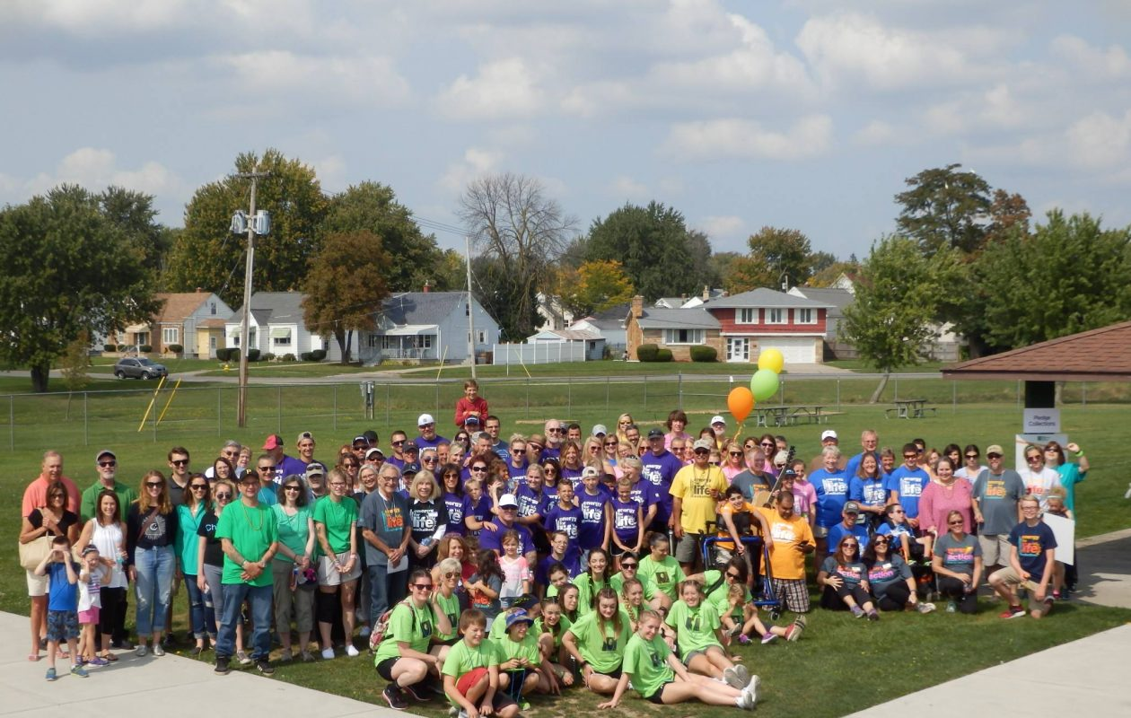 The ninth annual Energy for Life Walk in WNY to benefit the United Mitochondrial Disease Foundation will take place Saturday in Cheektowaga Town Park. Last year's walk drew about 200 people. (Photo by Linda Ramsey/Special to The News)