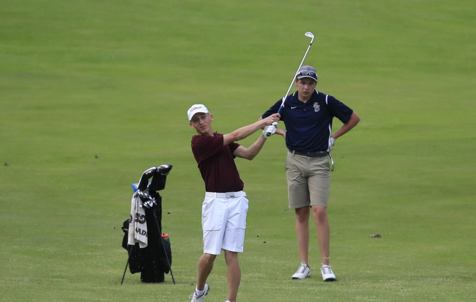 Ben Spitz helped Orchard Park capture its seventh straight division title in golf. (Harry Scull Jr./ Buffalo News)