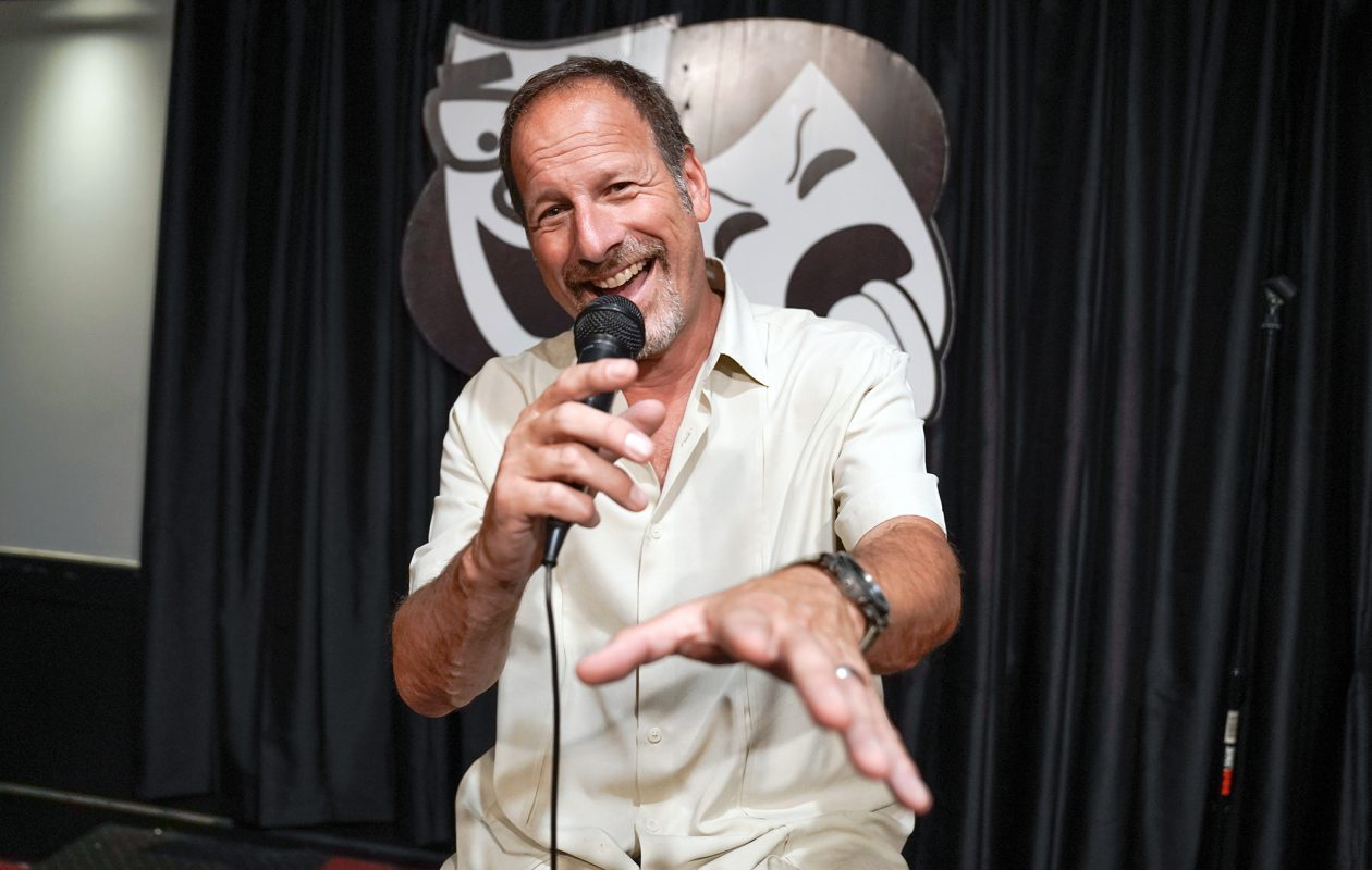 Rob Lederman is a veteran Buffalo comedian and owner of Rob's Comedy Playhouse. (Dave Jarosz)
