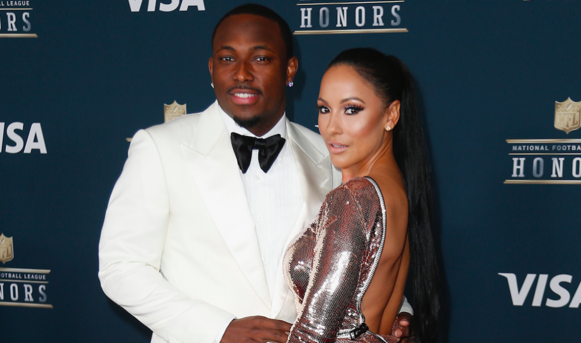 LeSean McCoy and Delicia Cordon attended the 6th Annual NFL Honors at Wortham Theater Center on February 4, 2017 in Houston, Texas. (Photo by Bob Levey/Getty Images)