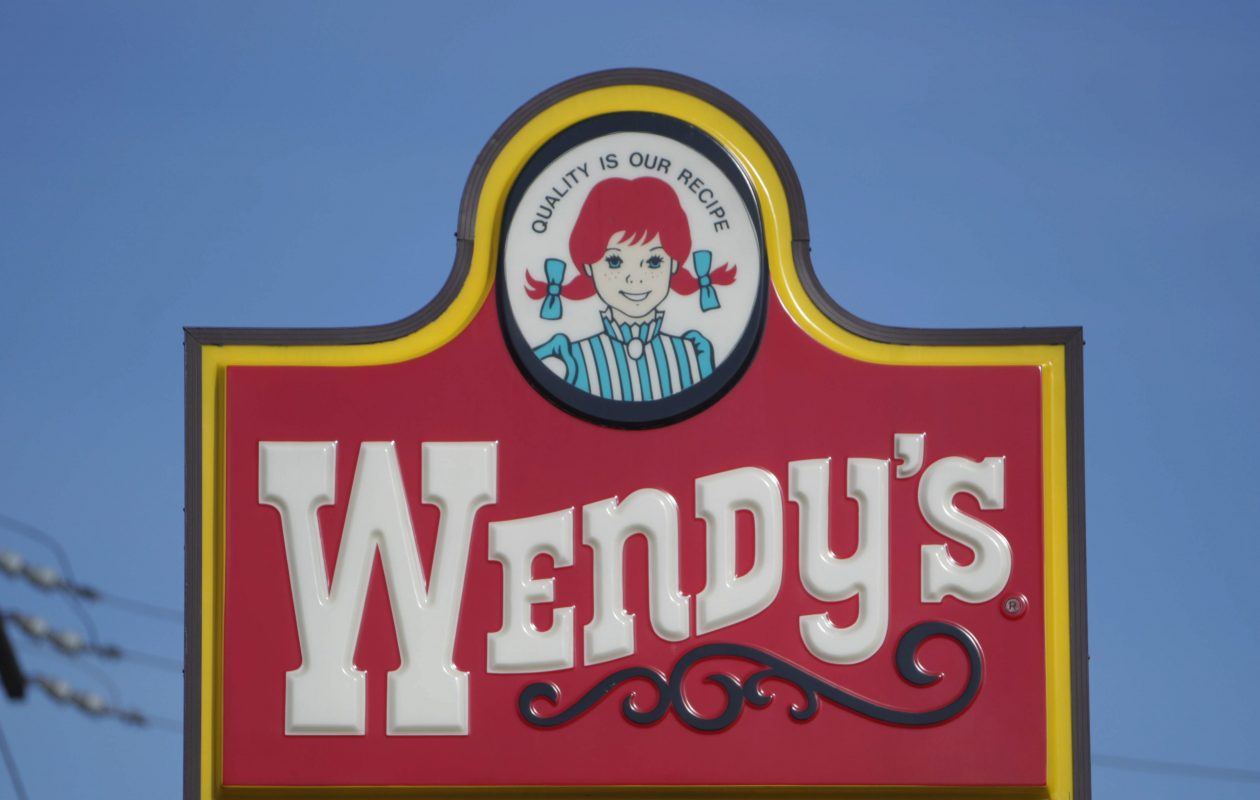 Participating Wendy's locations are giving away a free burger with purchase. (Sharon Cantillon/Buffalo News)