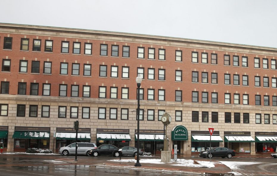 The Bewley Building in Lockport, as seen on Feb. 10, 2016. (John Hickey/News file photo)